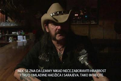 E moj Lemmy…