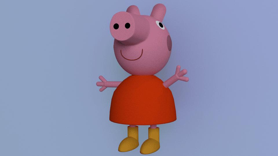 Fender Blender #2: Peppa Pig, moj prvi model