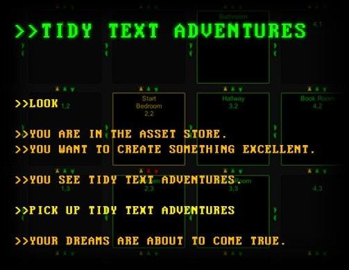 Tidy Text Adventures: ljepota tekstualnih avantura