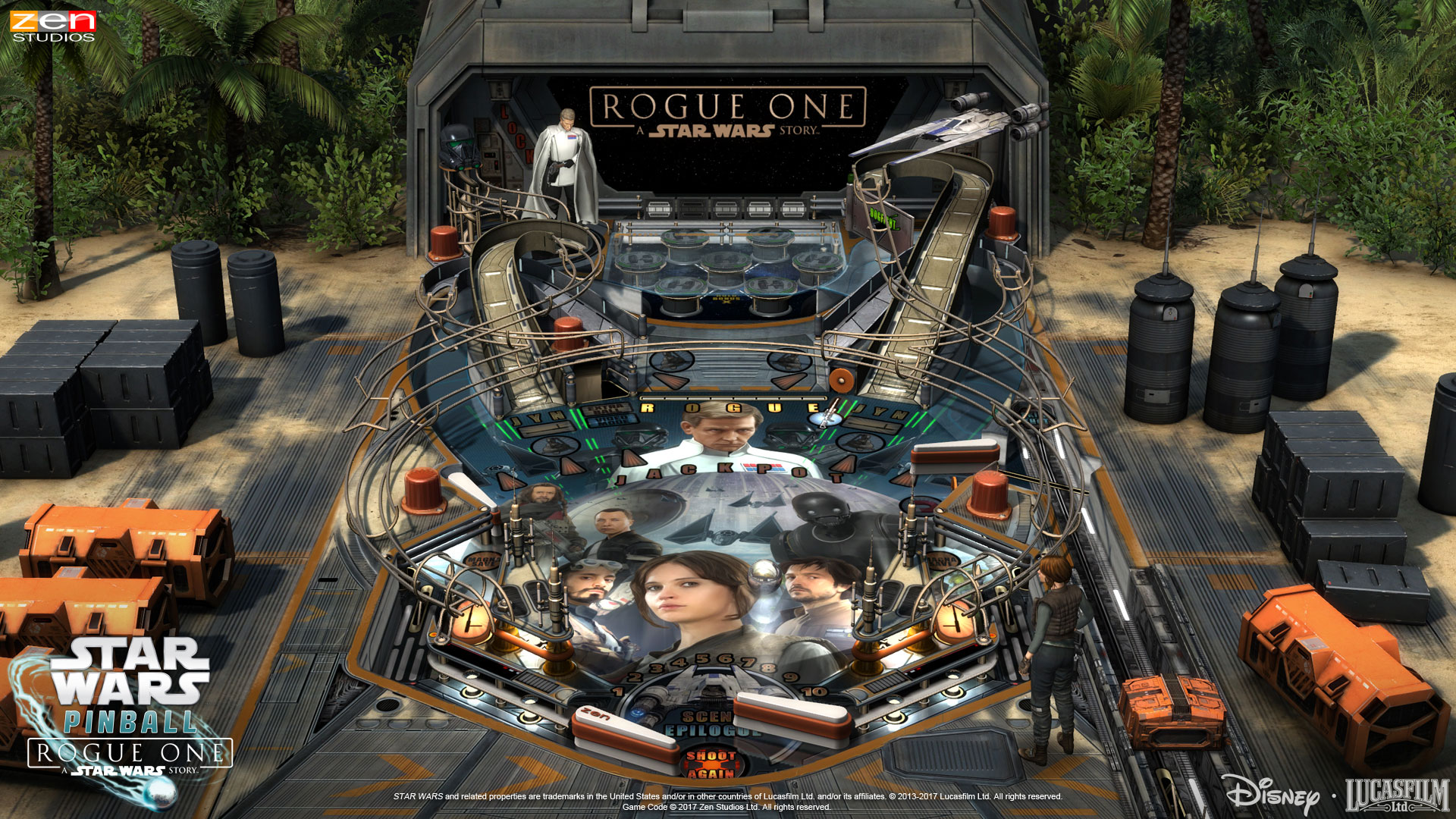 Igrao sam: Pinball FX2 – Star Wars™ Pinball: Rogue One™